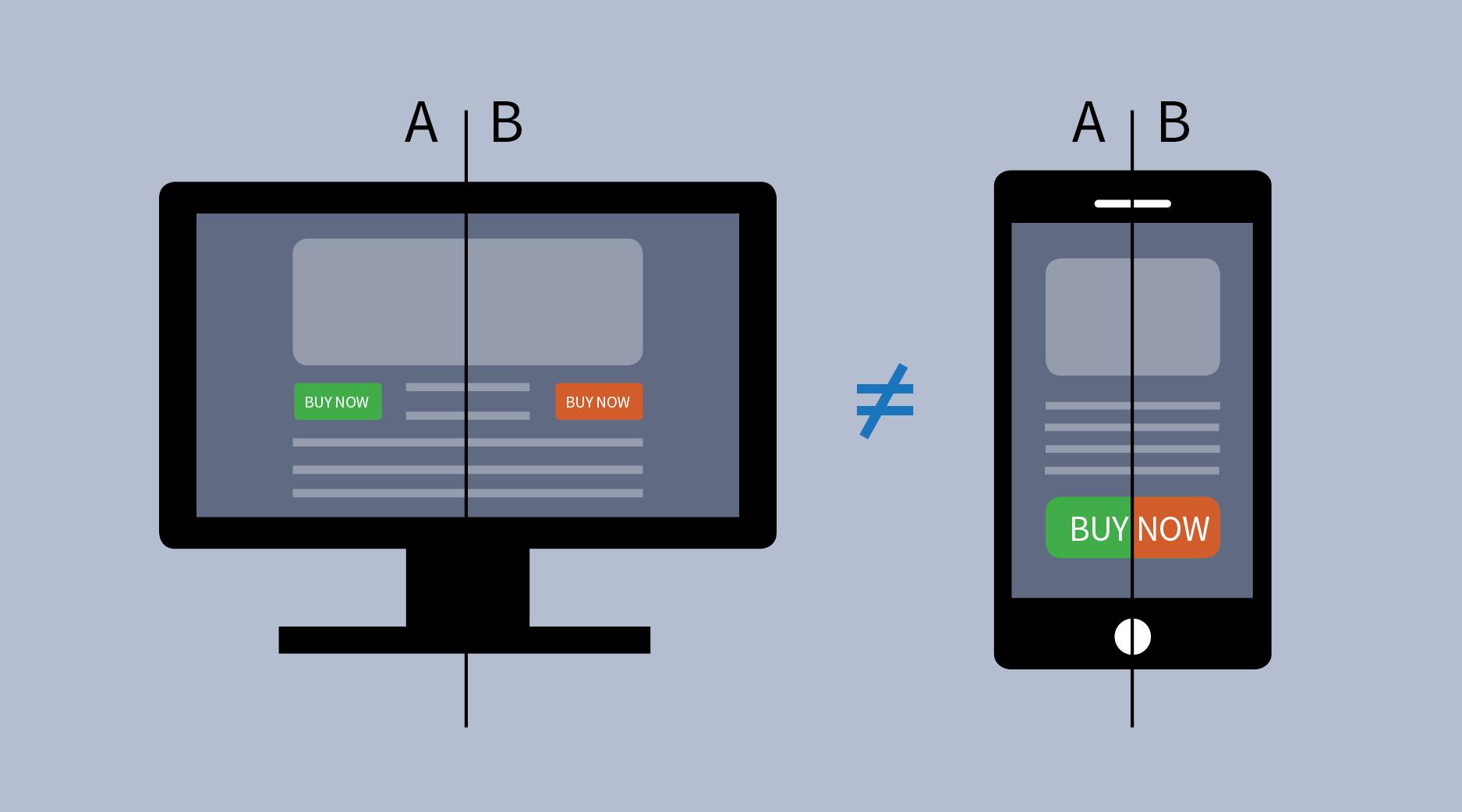 Полезные правила A/B тестирования элементов сайта