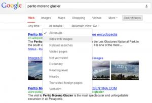 новый интерфейс google