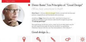 минималистичный дизайн сайтов