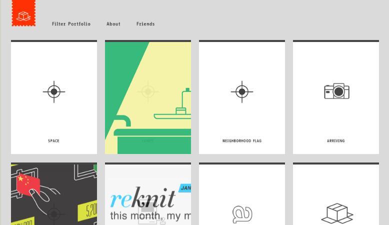 пример хорошего дизайна сайта в стиле минимализм