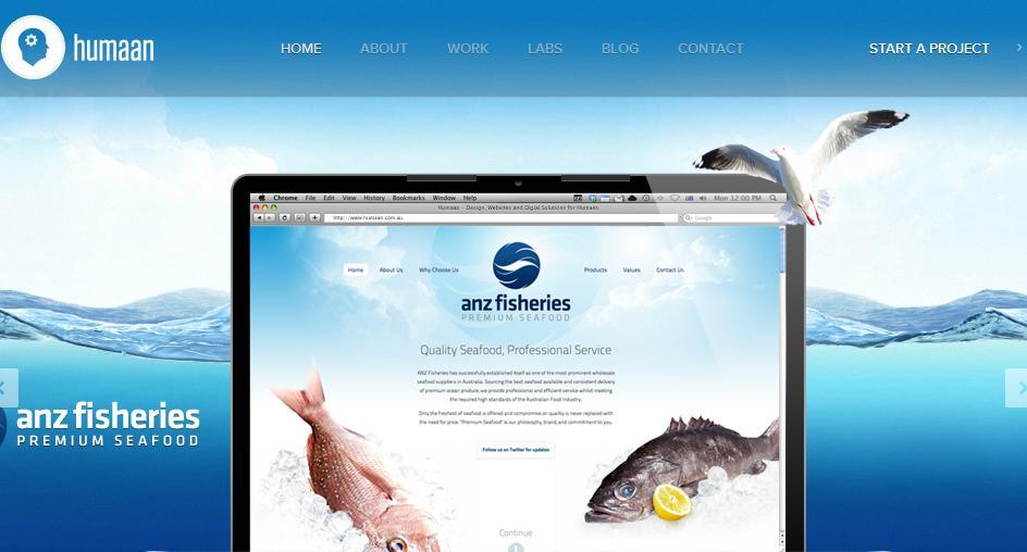Дизайн сайта пример