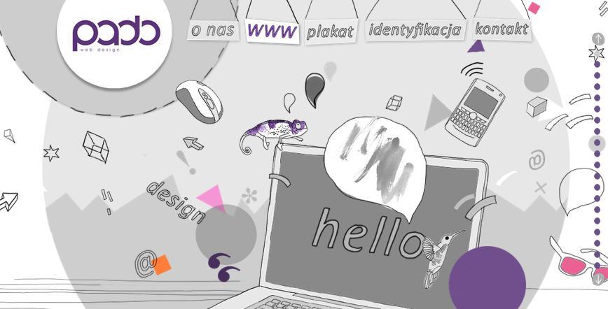 Одностраничный сайт пример креативного дизайна