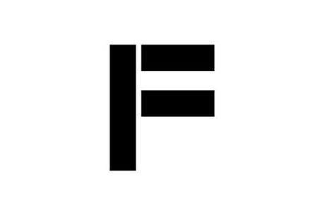 Логотип буква F