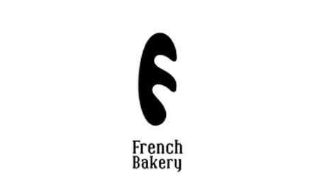Логотип бувой F - негативное пространство