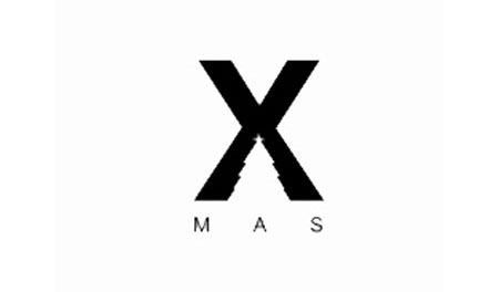 Негативное пространство: логотип буква X