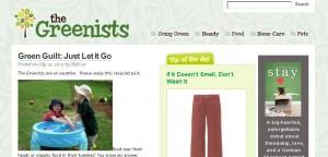 Сочетание цветов в web-дизайне: зеленый и белый