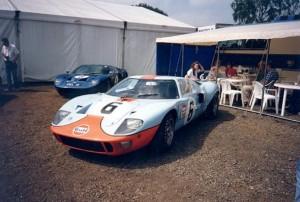 Форд GT40 цвета Gulf
