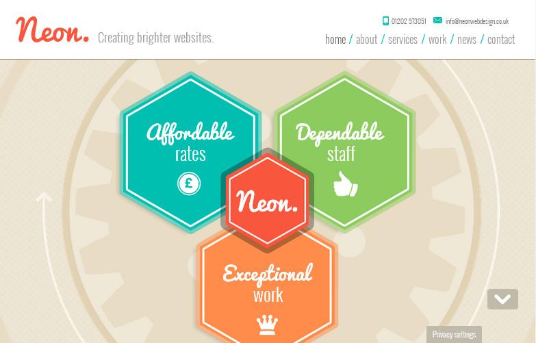 Удачные примеры использования цвета в веб-дизайне