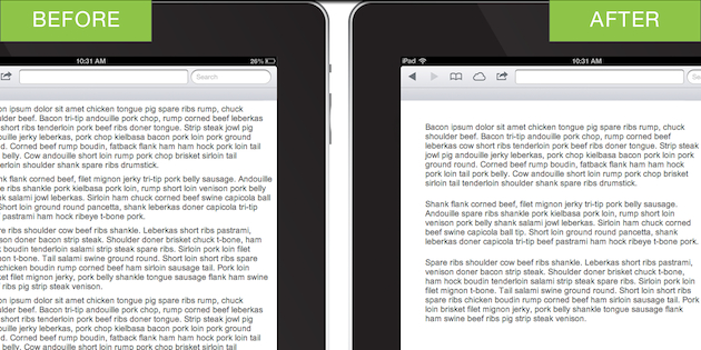 адаптация сайта под мобильные устройства: margin, текстовые блоки и поля страниц