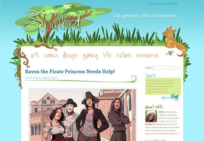 Красиво оформленные шапка и меню сайта