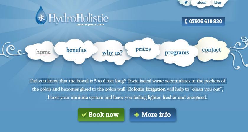красивое оформление меню сайта