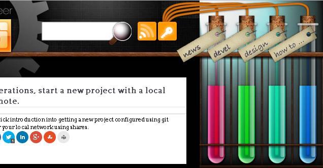 Примеры дизайна меню сайта