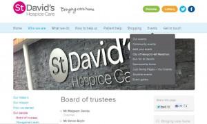 Дизайн меню сайта: главное и боковое меню навигации