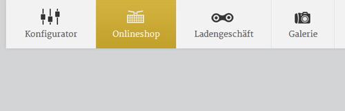 Иконки в дизайне меню сайта