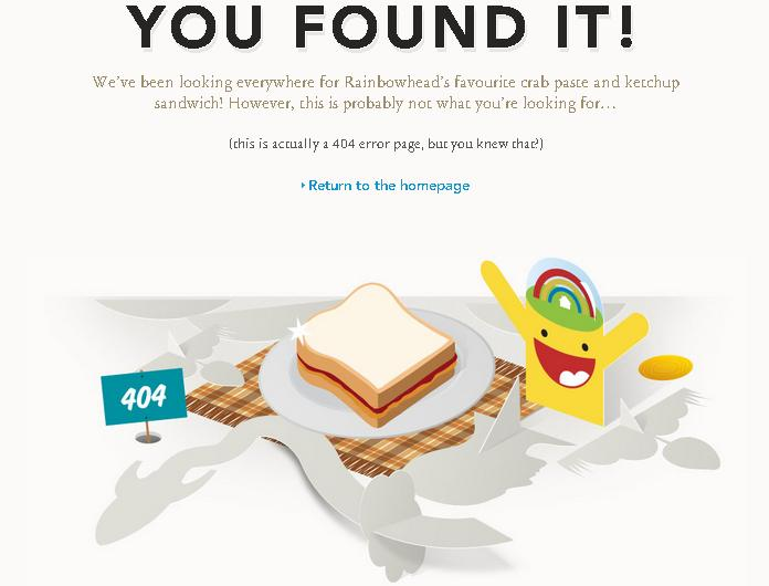 красивые страницы 404