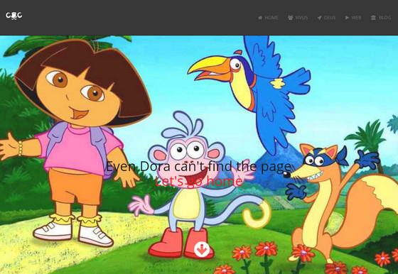 404 страница с забавной детской иллюстрацией