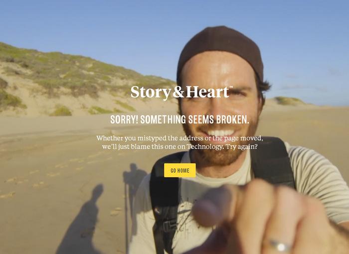 404 страница с закольцованным видео (coub)