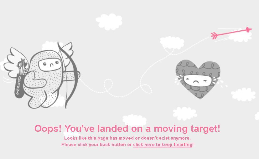 Занимательная страница 404