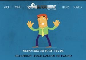 лучшие примеры 404 страниц