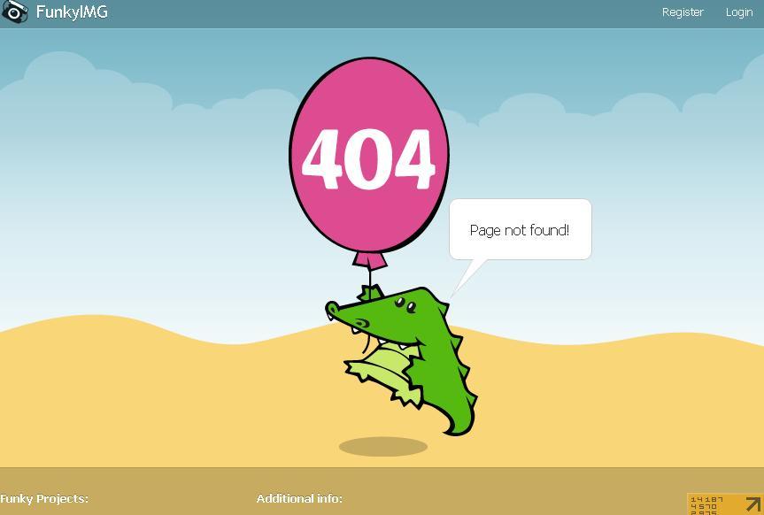 лучшие страницы 404