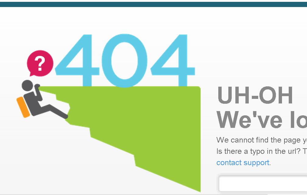 примеры страниц 404