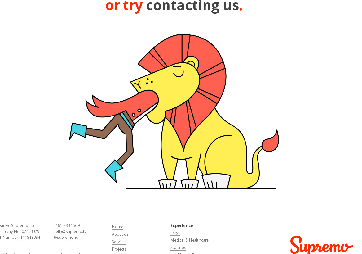 Прикольная картинка на странице с ошибкой 404