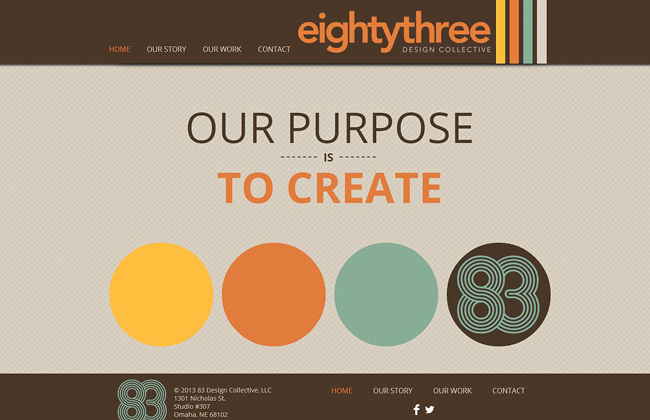 флэт дизайн: примеры сайтов