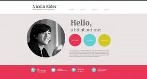 Flat дизайн: примеры шаблонов сайтов