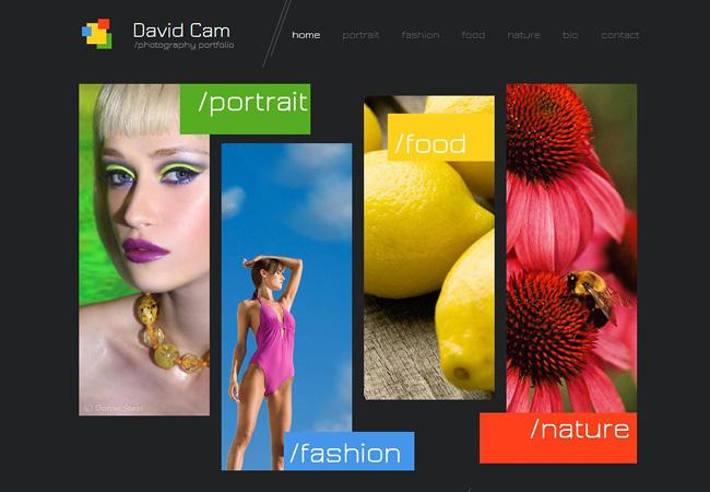 плоский дизайн: примеры шаблонов сайтов