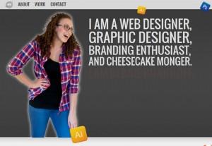креативное портфолио дизайнера