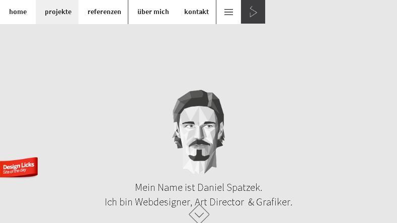 Примеры дизайнерских сайтов портфолио