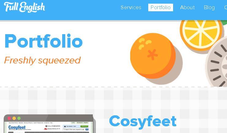 красивое портфолио веб дизайн агентства