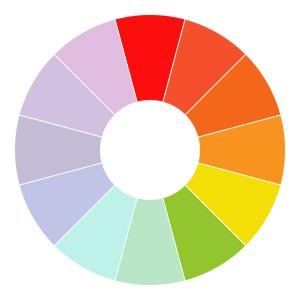 Теплые цвета