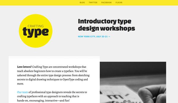 плоский дизайн: красивая типографика