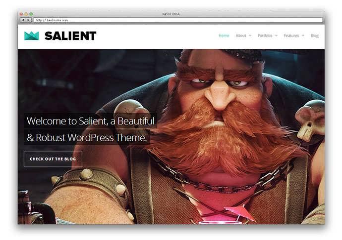 красивый шаблон сайта портфолио: beautiful portfolio