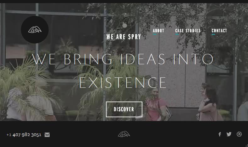 видео как фон сайта