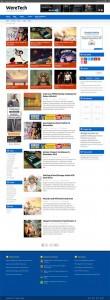 бесплатный адаптивный wordpress шаблон на html5