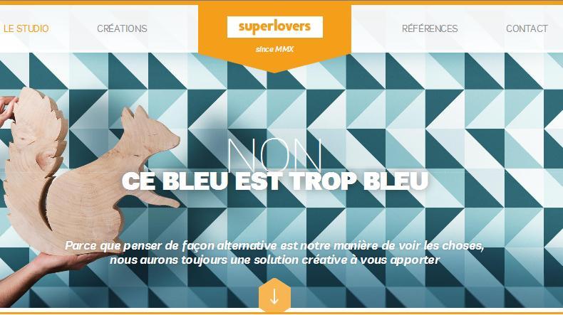 примеры геометрии в дизайне сайтов