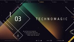 Удивительная геометрия в дизайне сайтов