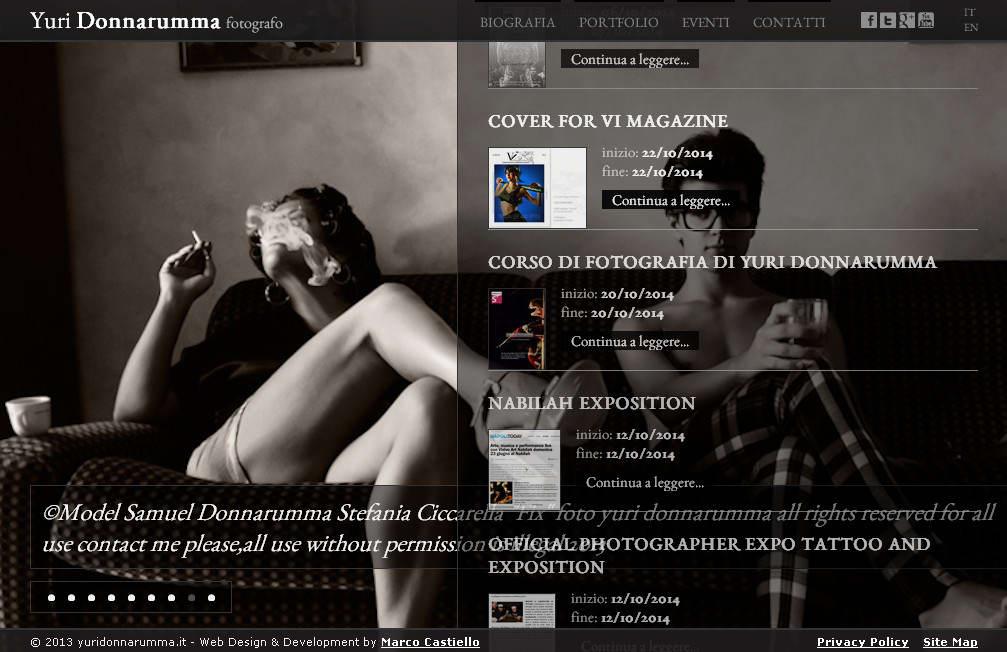 оригинальный черно-белый сайт с полупрозрачными фонами в дизайне