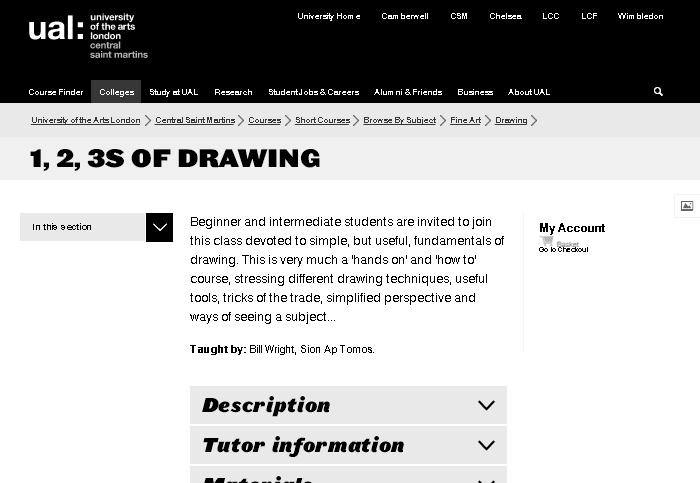 черно-белый арт-сайт