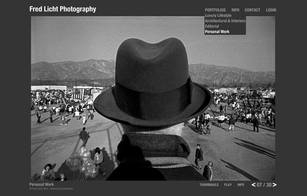 черно-белый сайт фотографа