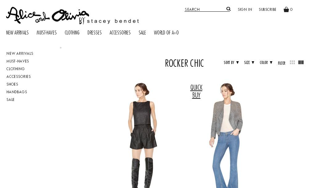 Минималистичный сайт интернет магазина с черно-белым дизайном