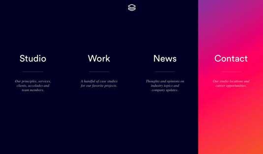 яркие цвета в веб-дизайне