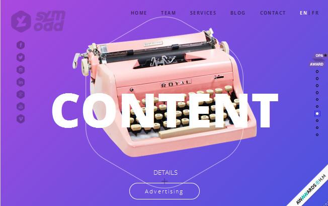 яркие цвета для сайта
