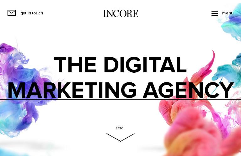 Яркий и привлекательный веб-дизайн с использованием плоских цветов