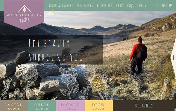 цветовое решение для плоского сайта