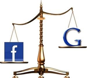 Google начал уступать Facebook по трафику для крупных новостных сайтов