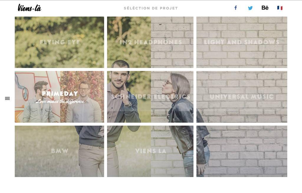 Оригинальное и креативное портфолио сайта