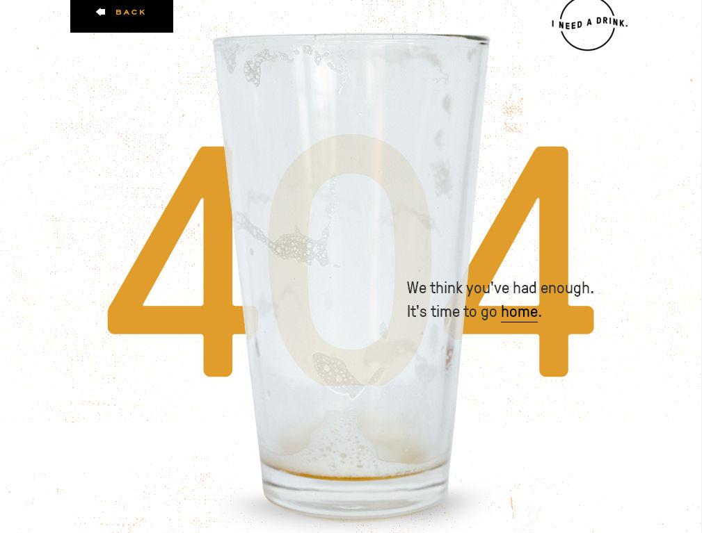 Самая оригинальная страница с ошибкой 404
